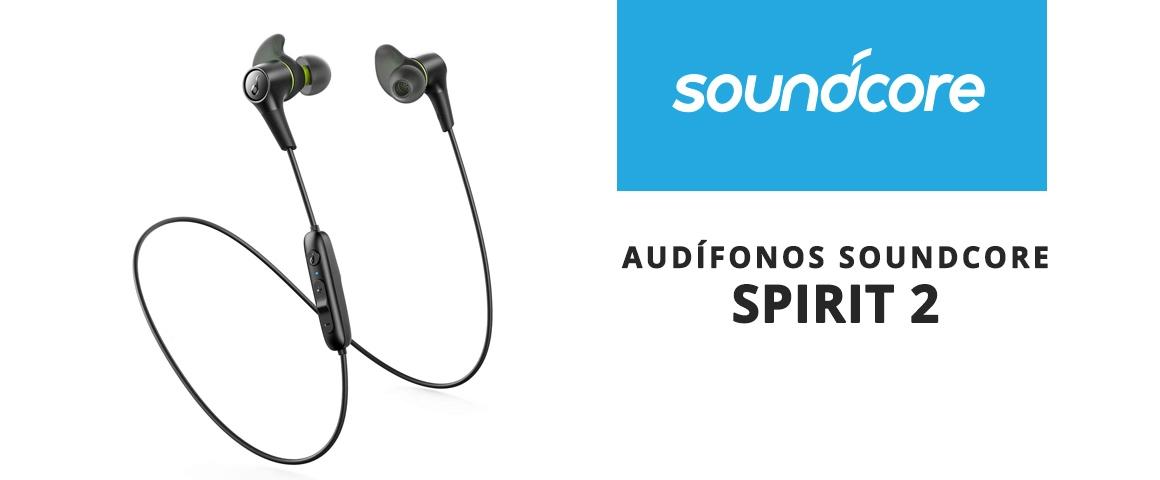 Audífonos Bluetooth Soundcore Spirit 2