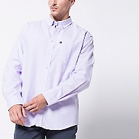 Camisa Oxford Lisa Manga Larga