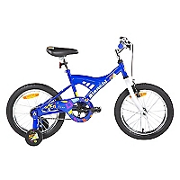 Bicicleta Aro 16 Kids Azul