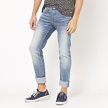Jeans Gastado Juvenil