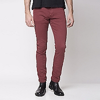 Pantalón Skinny Denim Color