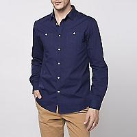 Camisa Lisa Regular