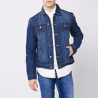 Chaqueta Denim Manga larga