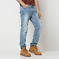 Jeans 5 Bolsillos Tapered