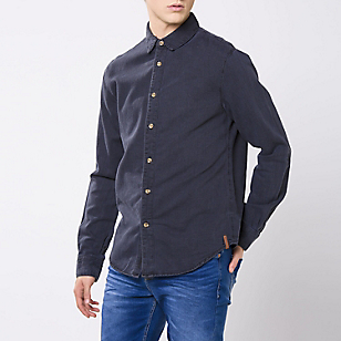 Camisa Denim Lisa Regular
