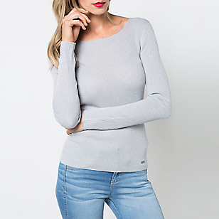Sweater Liso Manga Larga