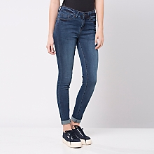 Jeans Ajustado Rasgados