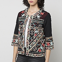 Chaqueta Full Embroderie