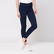 Jeans Ajustado Bolsillos