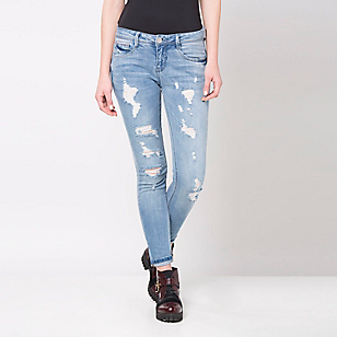 Jeans Skinny Destroyed