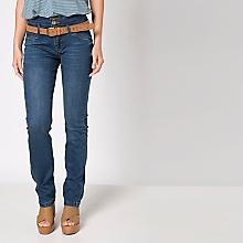Jeans Liso Alto Bootcut