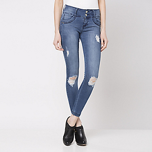 Jeans 2 Botones Destroyed