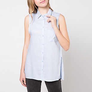 Blusa Larga Lisa