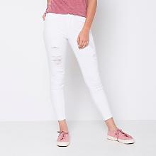 Jeans Corto Gastado
