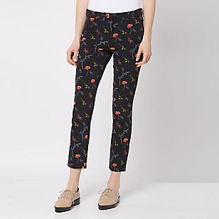 Pantalón Diseño Floreado