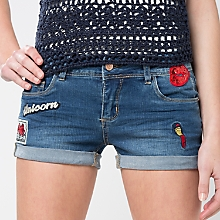 Short Denim Parches