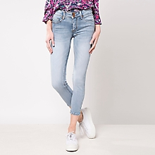 Jeans High Liso