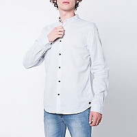 Camisa Regular Manga Larga