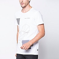 Polera Manga Corta Long Fit