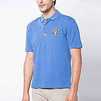 Polera Cuello Polo Lisa