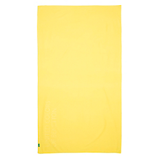Toalla Microfibra Amarilla 80 cm x 160 cm