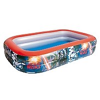 Piscina Rectangular Inflable Multicolor