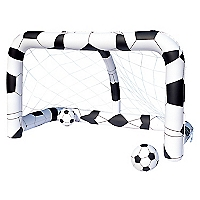 Inflable  soccernet Multicolor