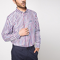 Camisa Regular Puntos