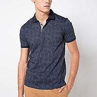 Polera Slim Estampada
