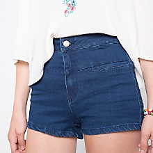 Short Denim Liso