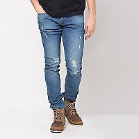 Jeans Moda High Strech Super