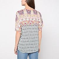 Blusa Cuello V Diseño