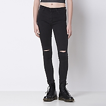 Jeans Rasgados Skinny