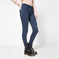 Jeans Liso Cortes
