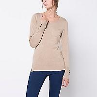 Sweater Liso Bolsillo