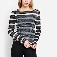 Sweater Cierre en Escote