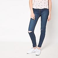 Jeans Liso Rasgado