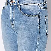 Jeans Skinny Desflecado