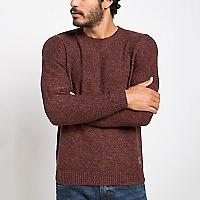 Sweater Manga Larga Texturado