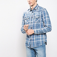 Camisa Slim Cuadros