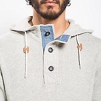 Sweater con Gorro Texturado