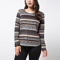 Sweater Diseño Cuello Redondo