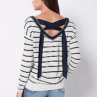 Sweater Detalle Espalda