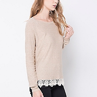 Sweater Detalle Blonda