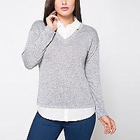 Sweater Cuello en V
