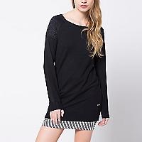 Sweater Largo Liso