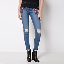Jeans Diseño Flores