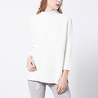 Sweater Texturado Manga Larga
