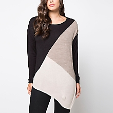 Sweater Corte Diagonal