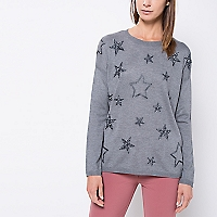 Sweater Liso Bordados